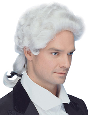 Colonial Man Wig Peter Alan
