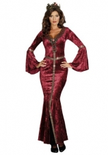 Come To Camelot Renaissance Queen Costume