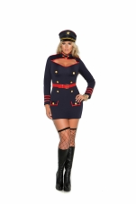 Commander In Charge 2 Pc Costume