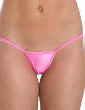 Convertible Low Back Tee G String Body Zone