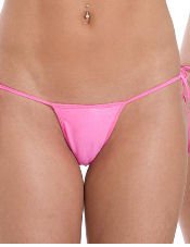 Convertible Tie Side T-Back G String Body Zone