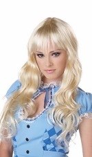 Coquette (Blonde) Adult Wig California Costume