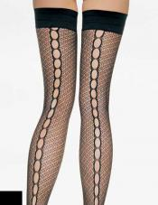 Crochet Net Thigh Highs Leg Avenue