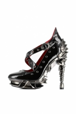 Crow Chrome Plated Heels