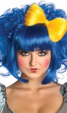 Cutie Doll Blue Adult Wig Rubies
