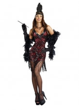 Dames Like Us Flapper 20'S Costume Dreamgirl
