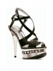 Daria 5 Inch Strappy Metallic Sandal Ellie Shoes