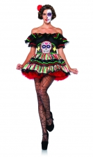 Day Of The Dead Doll Costume Leg Avenue