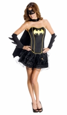 DC Comics Secret Wishes Batgirl Corset Adult Costume Rubies