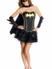 DC Comics Secret Wishes Batgirl Corset Adult Costume