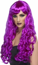 Desire (Purple) Adult Wig Smiffys