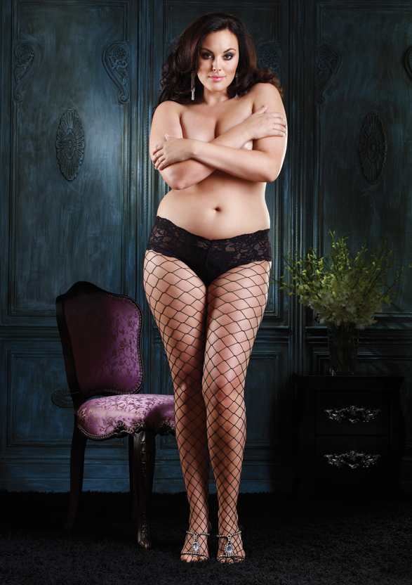 Black Fishnet Pantyhose for Women - Party City
