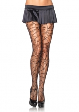 Distressed Net Pantyhose Leg Avenue