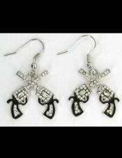 Double Gun Earrings Desire