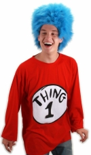 Dr. Seuss Thing 1 Adult Costume Kit