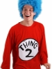 Dr. Seuss Thing 2 Adult Plus Costume Kit Elope