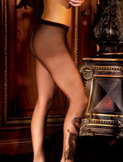 Dragon Tattoo Sheer Pantyhose Leg Avenue