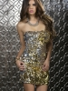 Elena Strapless Sequin Dress Forplay