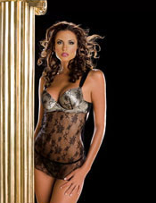 Enchantement Chemise And G-String Oh La La Cheri