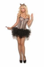 Feline Fifi 4 Pc Costume Elegant Moments
