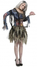 Female Complete Zombie Adult Costume Fun World
