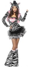 Fever Zebra Adult Costume