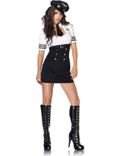 First Class Captain Costume Leg Avenue