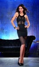 Fishnet Club Dress