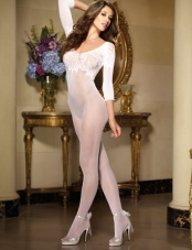 Fishnet Lace Bodystocking