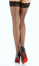 Fishnet Stay-Up Stockings Dreamgirl