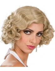 Flapper Wig (Blonde) Rubies