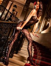 Flower Lace Bodystocking Baci Lingerie