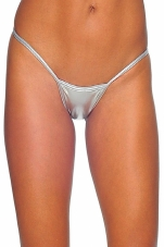 Foil Tiny Low Back G-String