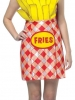 French Fries Dress Adult Costume