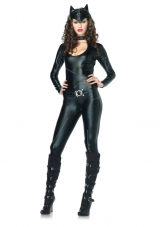Frisky Feline 3 PC. Catsuit Costume Leg Avenue