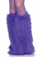 Furry Leg Warmers Costume