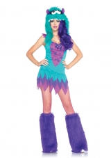 Fuzzy Frankie Monster Adult Costume Leg Avenue
