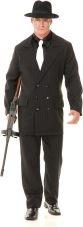 Gangster Suit (Black/Red) Costume