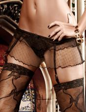 Gartered Skirt Baci Lingerie