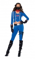 GI Joe Cobra Girl Costume Leg Avenue