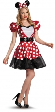 Glam Red Minnie Adult Costume Disguise