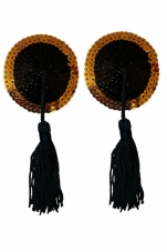 Gold Digger Sequin Tassel Pasties