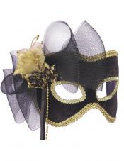 Golden Flower Mask Forum Novelties