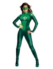 Green Lantern Movie Green Lantern Uniform Costume Rubies