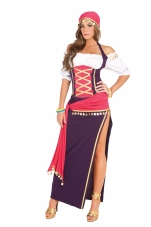 Gypsy Maiden 5 Pc Costume Elegant Moments
