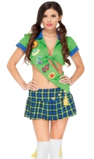 Happy Camper Girl Scout Costume