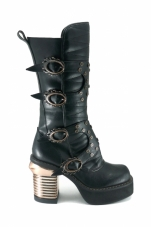 Harajuku Knee High Boots Hades