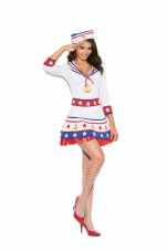 Harbor Hottie 2 Pc Costume Elegant Moments