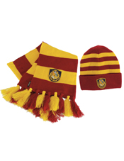 Harry Potter Hogwarts Hat and Scarf