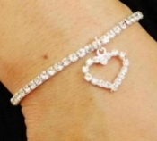 Heart Stretch Bracelet Desire